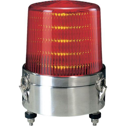 ■パトライト LED流動・点滅表示灯  〔品番:KLE-24S-R〕掲外取寄[TR-8568632]