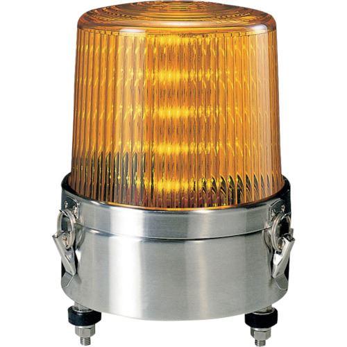 ■パトライト LED流動・点滅表示灯  〔品番:KLE-100S-Y〕[TR-8568637]