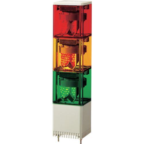 ■パトライト キュービックタワー LED小型積層  〔品番:KESB-320-RYG〕[TR-8568723]