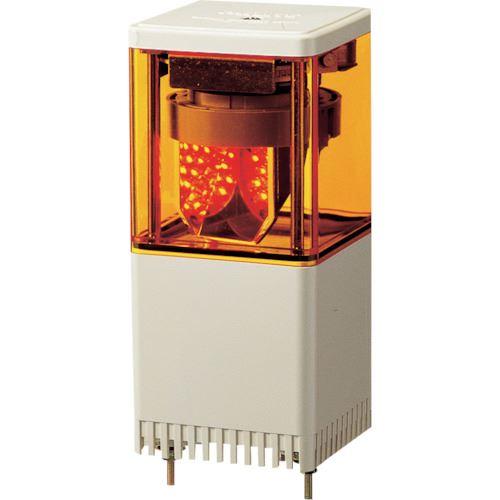 ■パトライト キュービックタワー LED小型積層  〔品番:KESB-110-Y〕[TR-8568731]