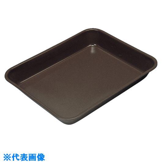 ■フロンケミカル フッ素樹脂コーティング標準バット(膜厚約300μ) 標準3〔品番:NR3302-010〕[TR-8569476]【個人宅配送不可】
