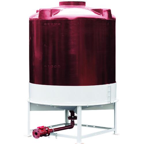 ■スイコー 耐熱HT型完全液出しタンク2000  〔品番:TU-HT2000〕[TR-8569531]【大型・重量物・個人宅配送不可】