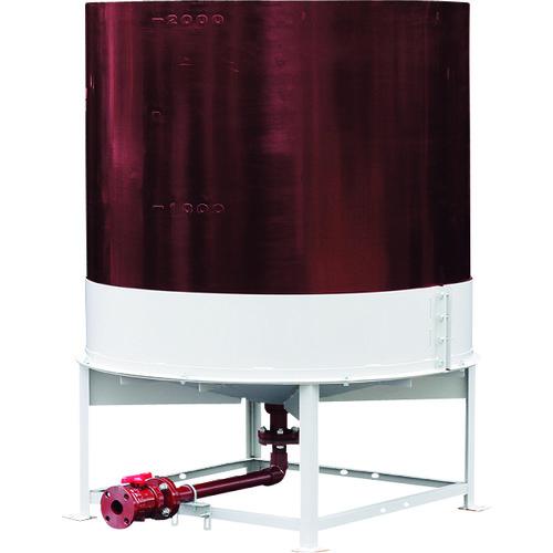 ■スイコー 耐熱OHT型上部開放完全液出しタンク500  〔品番:TU-OHT500〕[TR-8569551]【大型・重量物・個人宅配送不可】