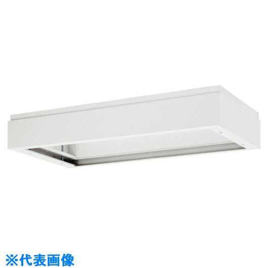■ダイシン 壁面収納庫 上部カバー型 W450 ホワイト〔品番:V440-11A〕[TR-8569563 ]【送料別途お見積り】