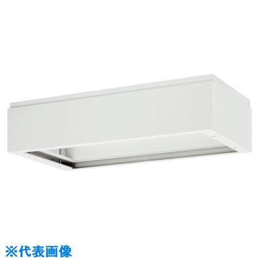 ■ダイシン 壁面収納庫 上部カバー型 W450 ホワイト〔品番:V445-17A〕[TR-8569577 ]【送料別途お見積り】