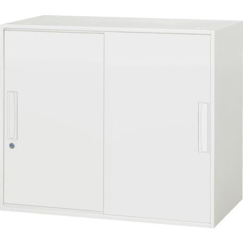 ■ダイシン 壁面収納庫 引戸型 上下兼用W800 ホワイト  〔品番:V845-07S〕[TR-8569634]【大型・重量物・個人宅配送不可】