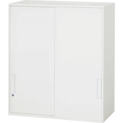 ■ダイシン 壁面収納庫 引戸型 上置き専用D450 ホワイト〔品番:V945-10S〕[TR-8569798]【個人宅配送不可】
