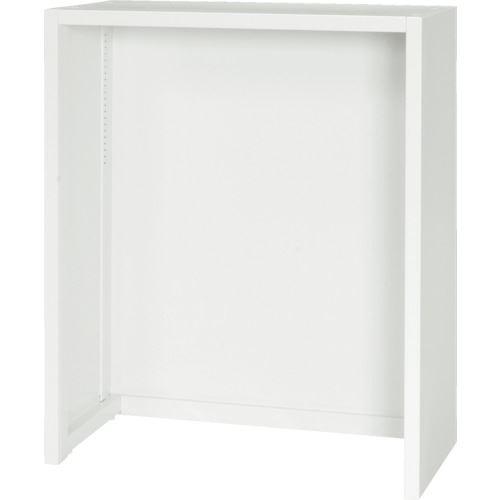 ■ダイシン 壁面収納庫 フリーボックス型  下置き専用D450 ホワイト  〔品番:V945-11FB〕[TR-8569809]【大型・重量物・個人宅配送不可】