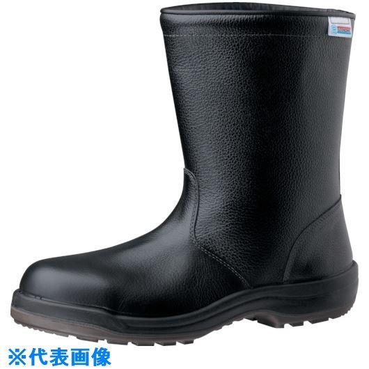 ■ミドリ安全 エコマーク認定安全靴 ES240ブラックECO静電 25.5CM  〔品番:ES240ECOS-25.5〕[TR-8573247]