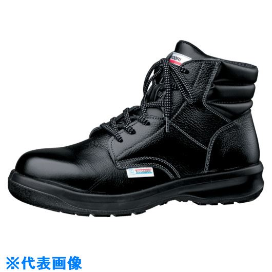 ■ミドリ安全 エコマーク認定安全靴 ESG3220黒eco静電 25.5cm〔品番:ESG3220ECOS-25.5〕[TR-8573268]