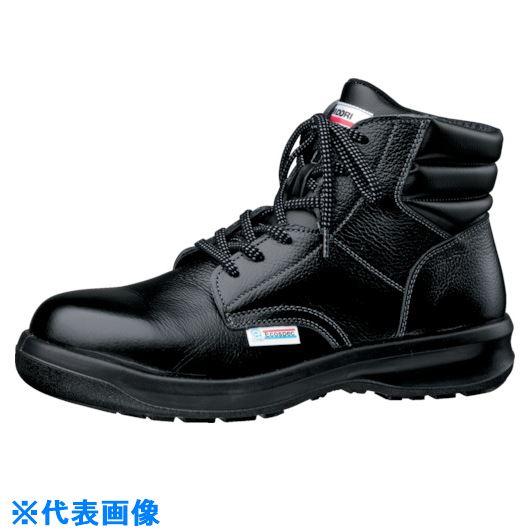 ■ミドリ安全 エコマーク認定安全靴 ESG3220黒eco静電 27.5cm〔品番:ESG3220ECOS-27.5〕[TR-8573272]