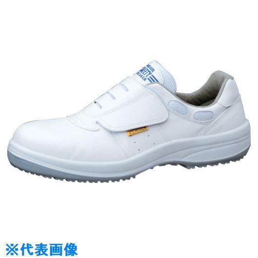 ■ミドリ安全 超耐滑安全靴 HGS595ホワイト静電 25cm〔品番:HGS595S-W-25.0〕[TR-8574866]