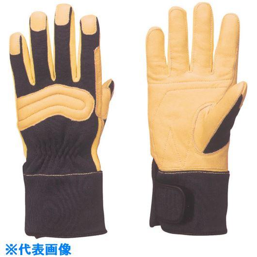 ■トワロン KC-60 消防用セラミックレザー手袋 ネイビー LL〔品番:KC60-NLL〕[TR-8575230]