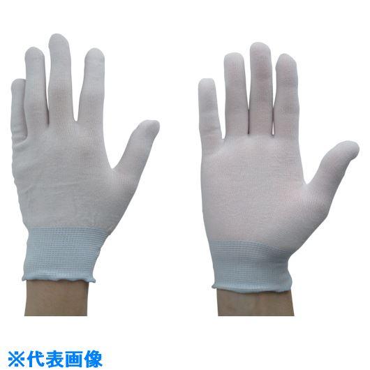 ■トワロン 長繊維下履き手袋(10双入) M《24袋入》〔品番:NOSO-001-M〕[TR-8576026×24]
