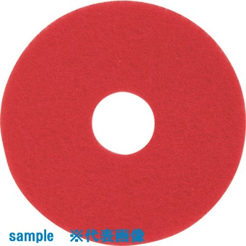 ■3M レッドバッファーパッド 赤 355X82MM  (5枚入)  〔品番:RED〕[TR-8577454]「送料別途見積り」・「法人・事業所限定」・「掲外取寄」