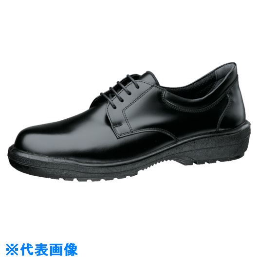 ■ミドリ安全 ラバー2層底紳士靴 RT1310ブラック 24.5cm〔品番:RT1310-24.5〕[TR-8577517]