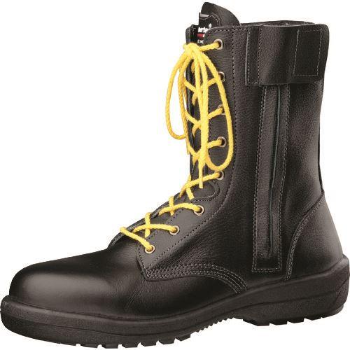 ■ミドリ安全 新ラバー2層底安全靴 RT730Fオールハトメ静電 23.5cm〔品番:RT730FS-23.5〕[TR-8577593]