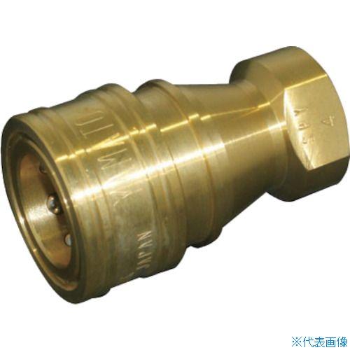 ■ヤマト SPYカップリング ソケット(真鍮)SPY12-S〔品番:SPY12-S BSBM〕[TR-8577957]【個人宅配送不可】