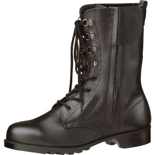 ■ミドリ安全 ゴム底安全靴 V2133チャックN 24cm〔品番:V2133N-24.0〕[TR-8578751]