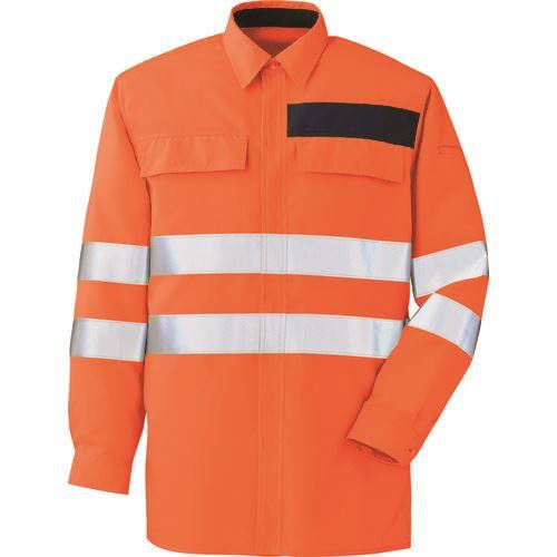 ■ミドリ安全 高視認シャツ オレンジ 4L〔品番:VES〕[TR-8578955]