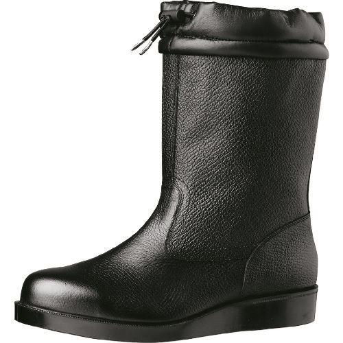 ■ミドリ安全 舗装工事用安全靴 VR240フードブラック 24.5cm〔品番:VR240-24.5〕[TR-8579083]