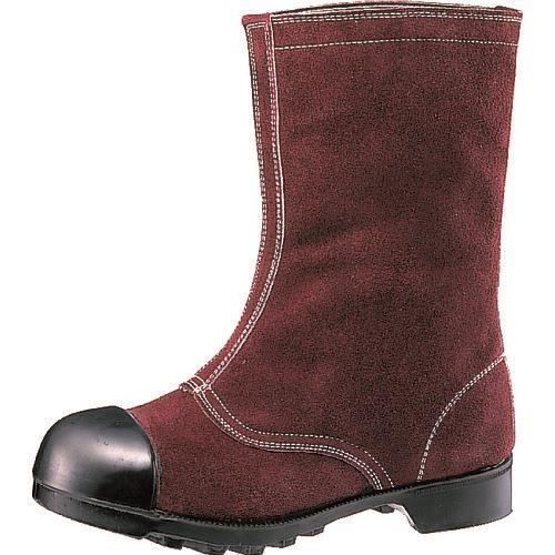 ■ミドリ安全 熱場作業用安全靴 つま先ガード付 W344 26.5cm〔品番:W344-26.5〕[TR-8579272]