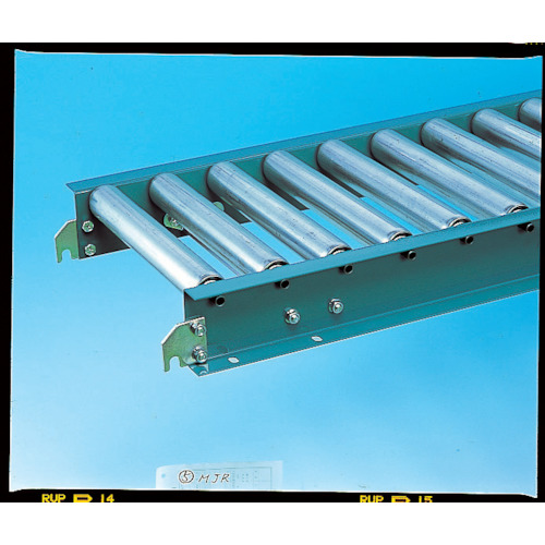 ■三鈴 スチールローラコンベヤMS42型 径42.7×1.4T幅500 1M  〔品番:MS42-501010〕[TR-8582994]【大型・重量物・個人宅配送不可】