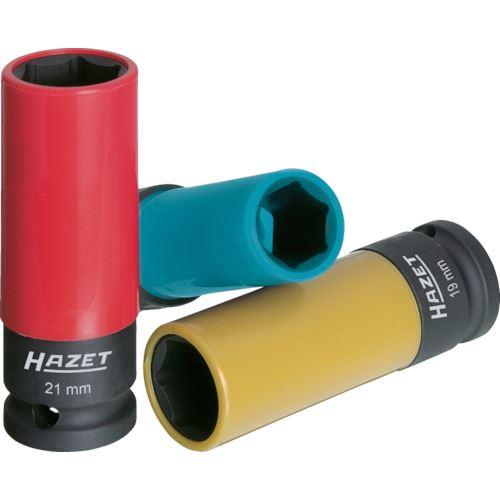 ■HAZET インパクト用ロングホイールナットソケットセット(6角タイプ・差込角1  〔品番:903SPC/3〕[TR-8587341]