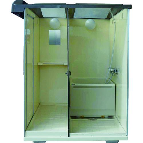 ■日野 屋外用バスシャワー 浴槽付  〔品番:NB-1515G〕[TR-8590135]【大型・重量物・送料別途お見積り】