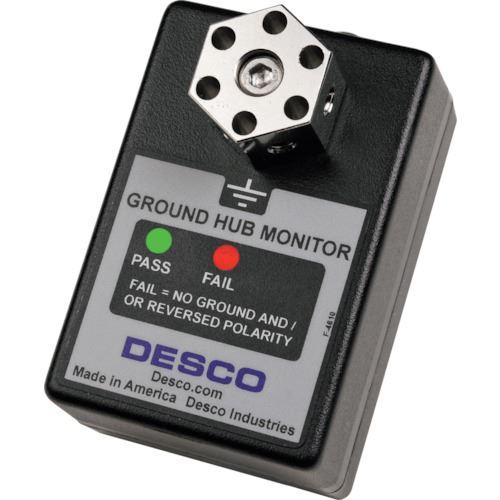 ■DESCO 機器接地確認モニター・ハブ 100V用〔品番:19219〕[TR-8590179]