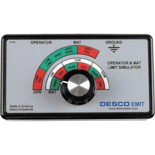 ?DESCO 校正器 モニター用 110V 50/60HZ〔品番:50512〕[TR-8590211]【個人宅配送不可】