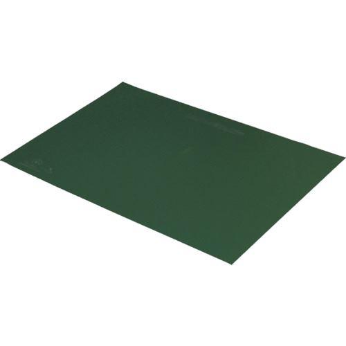 ■DESCO 静電気拡散性2層ラバーシート 緑 750X1200mm〔品番:880006〕[TR-8590229]