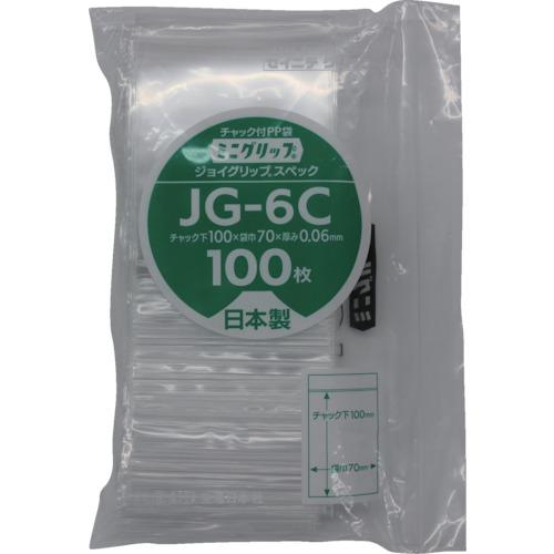 ■セイニチ ミニグリップ ジョイグリップスペック JG-6C 100×70×0.0  〔品番:JG-6C〕[TR-8590866]【個人宅配送不可】