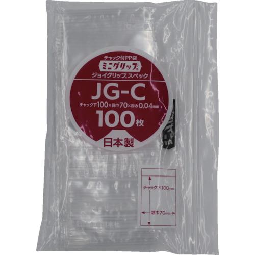 ■セイニチ ミニグリップ ジョイグリップスペック JG-C 100×70×0.04  〔品番:JG-C〕[TR-8590876]【個人宅配送不可】