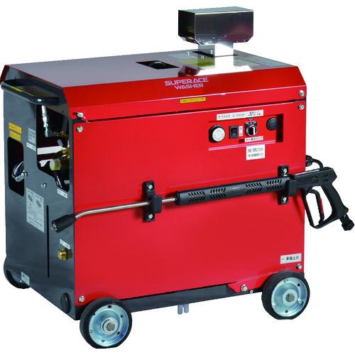 ■スーパー工業 モーター式高圧洗浄機SAR-1120VN-1-50HZ(温水)〔品番:SAR-1120VN-1-50HZ〕[TR-8591180]【個人宅配送不可】