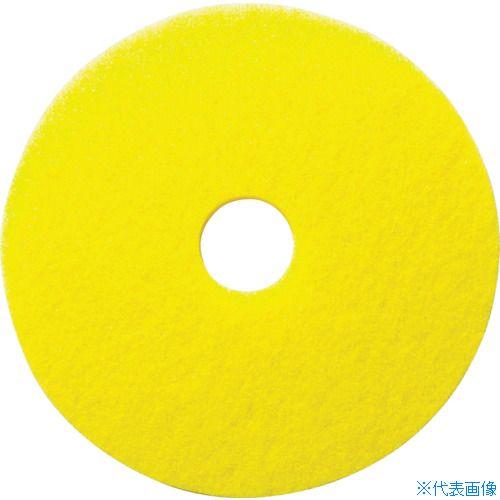 ■ケルヒャー 床洗浄用イエローディスクパッド 表面磨き用 432MM 5枚入り  〔品番:95481160〕[TR-8594383]