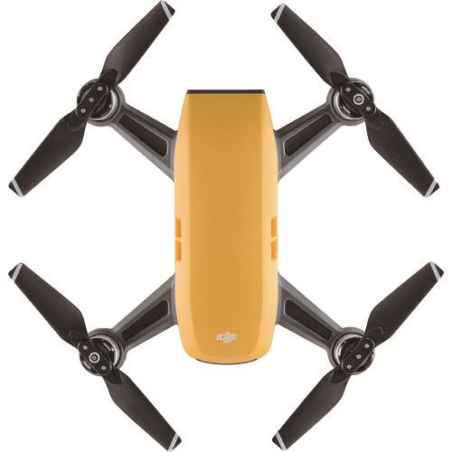 ■DJI Spark Fly More コンボ サンライズイエロー〔品番:D-149580〕[TR-8597311]