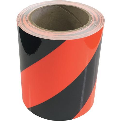 ■グリーンクロス トラテープ 蛍光オレンジ 90MM×5M  〔品番:1151010904〕[TR-8597339]