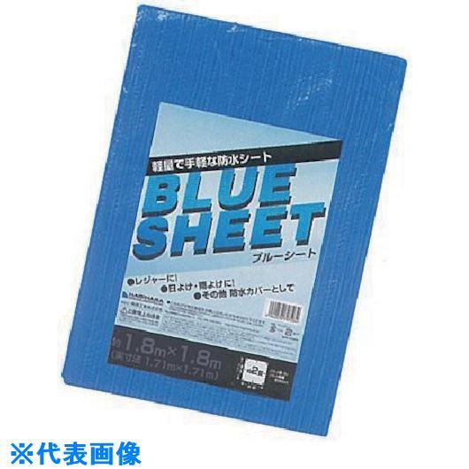 ■萩原 薄物ブルーシート 2.7m×3.6m《20枚入》〔品番:UBS-2736〕[TR-8684501×20]