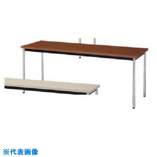 ■ナイキ テーブル 外寸法:W1500×D450×H700〔品番:KM1545-T〕[TR-8685142]【大型・重量物・個人宅配送不可】