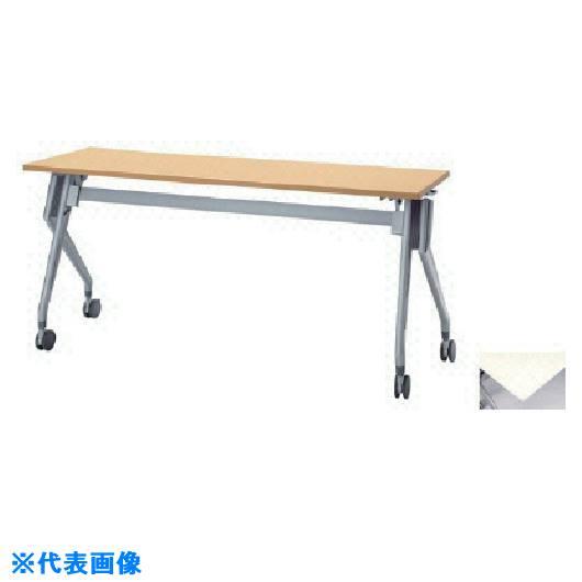 ■ナイキ 会議用テーブル〔品番:KUV1560T-WH〕[TR-8685281]【重量物・送料別途お見積り】