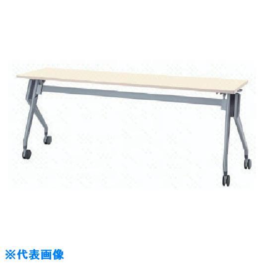 ■ナイキ 会議用テーブル〔品番:KUV1845T-WH〕[TR-8685285]