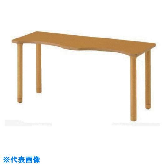 ■ナイキ 木製テーブル〔品番:RT1660SH-NA〕[TR-8686156]