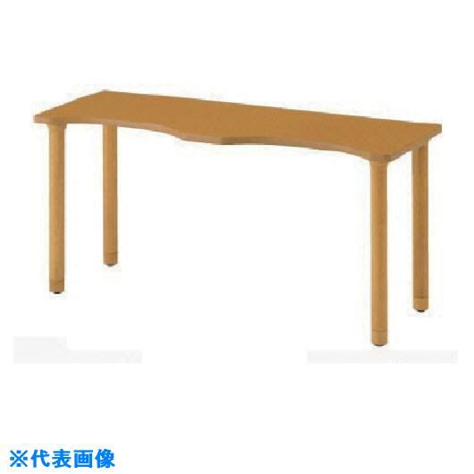 ■ナイキ 木製テーブル〔品番:RT1660SLC-NA〕[TR-8686157]
