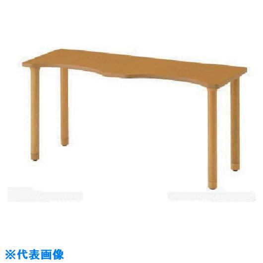 ■ナイキ 木製テーブル〔品番:RT1660SL-NA〕[TR-8686158]