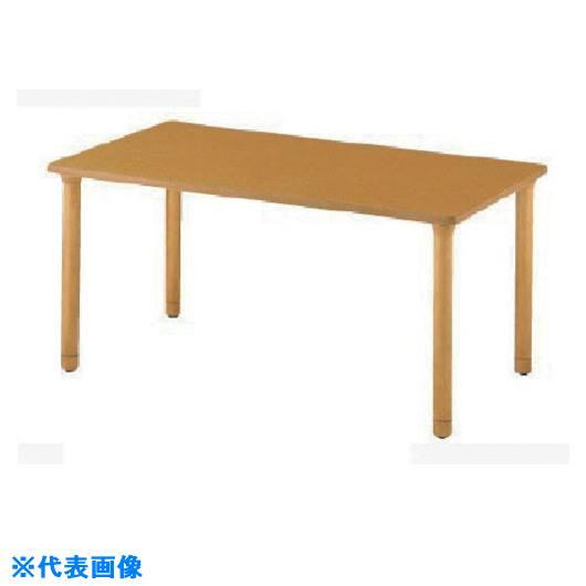 ■ナイキ 木製テーブル〔品番:RT1690HC-NA〕[TR-8686159]