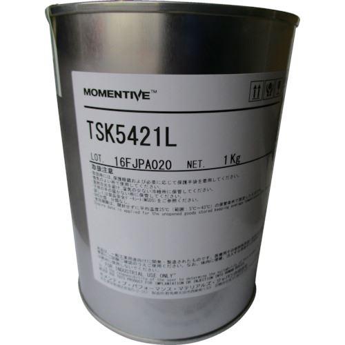 ■モメンティブ 低温潤滑用シリコーングリース 白 TSK5421L-1KG〔品番:TSK5421L-1KG〕[TR-8687649]