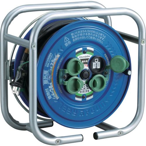 ■ハタヤ 段積みリールケーブルタイプ 標準型 接地付  〔品番:DSG-30K〕[TR-8688406]