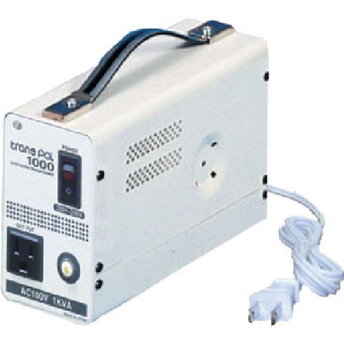 ?スワロー 海外用トランス 携帯タイプ入力AC220-230V 出力AC100V〔品番:PAL-1000EP〕[TR-8688856][送料別途見積り]「法人・事業所限定][掲外取寄]