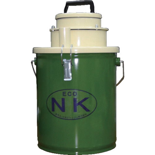 ■DANAX ペール缶バキュームクリーナー NK112MP  〔品番:NK112MP〕[TR-8688917][送料別途見積り][法人・事業所限定][外直送]